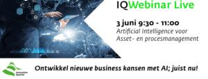 Artificial Intellligence voor asset en procesmanagement